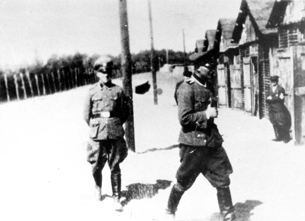 Wachpersonal im Vernichtungslager Belzec